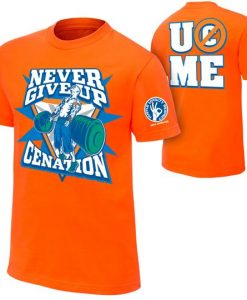 WTHSHIRT never give up cenation shirt